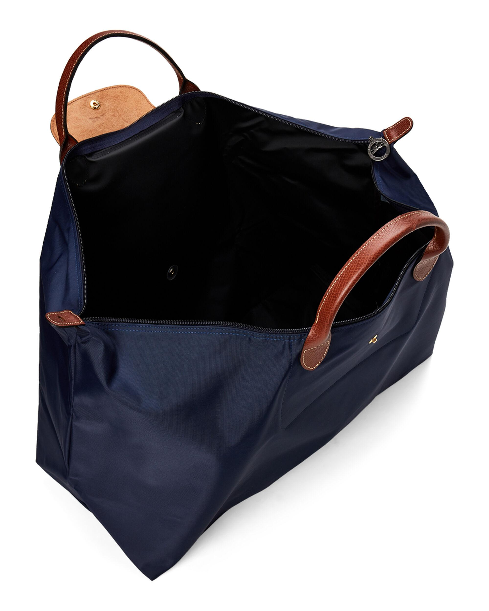47ade993442 Longchamp Le Pliage Neo Travel Bag in Blue - Lyst