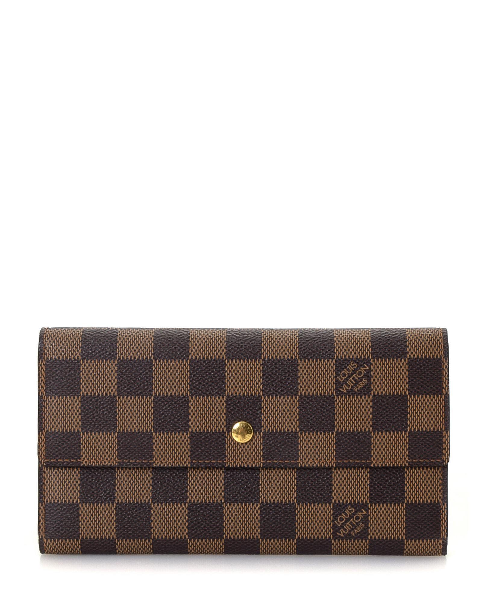 76b6c30f6256a Lyst - Louis Vuitton Porte-tresor International Wallet - Vintage in ...