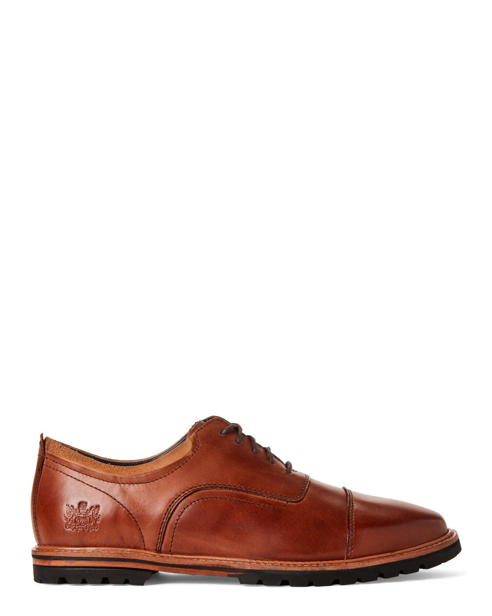 aa55a65dfa1 Lyst - Cole Haan Mesquite Handstain Raymond Grand Leather Oxfords in Brown  for Men