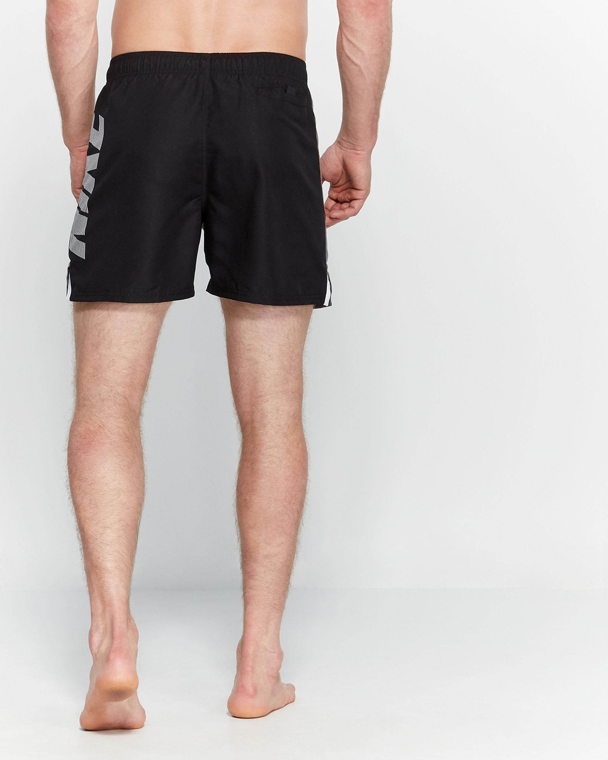 2095e2c958379 Lyst - Nike Rift Vital Swim Trunks in Black for Men