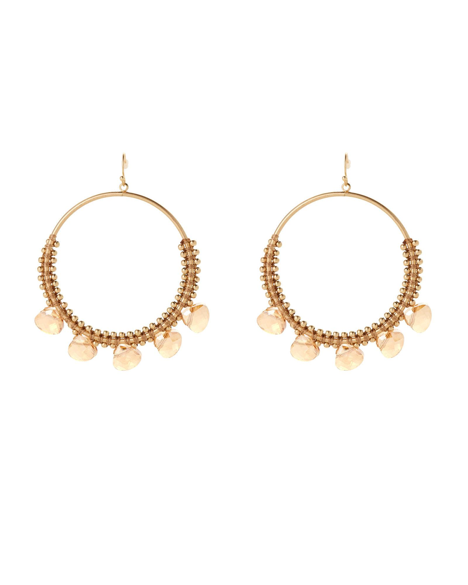 Panacea Shiny Hoop Earrings sCH2O6Kgv