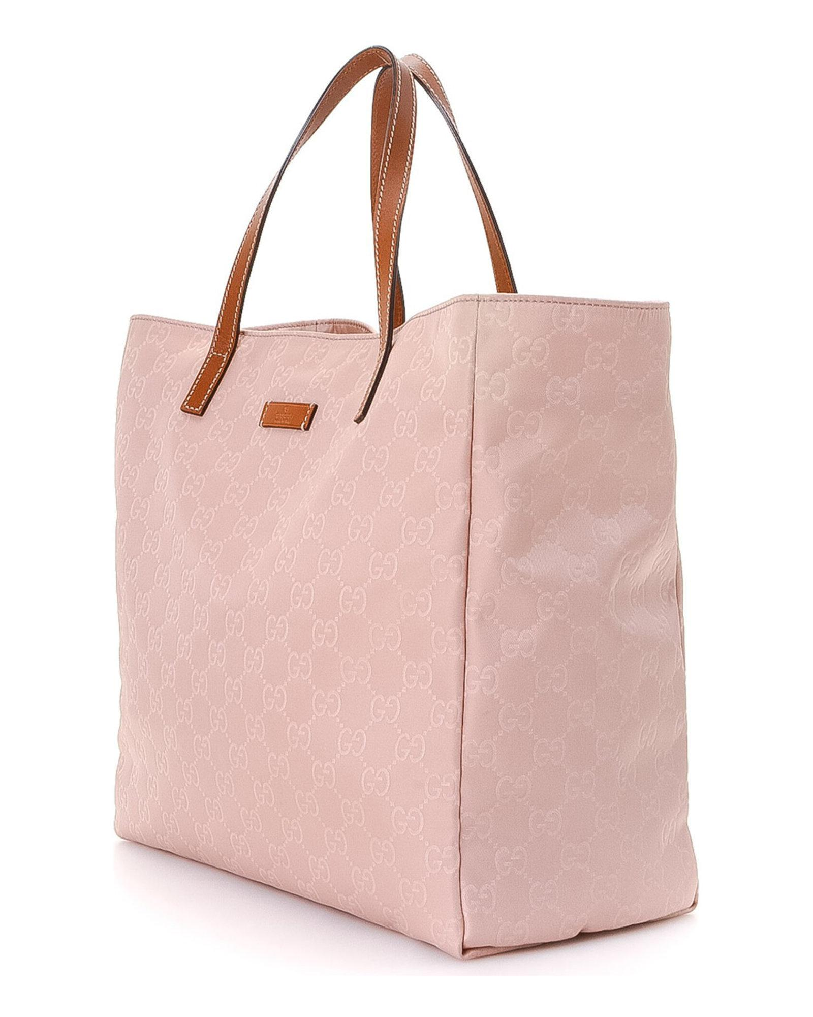 f9282394fa0 Lyst - Gucci Tote Bag - Vintage in Pink
