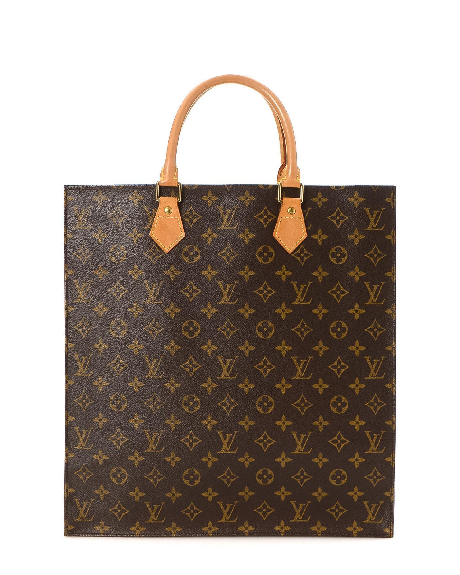 c2d66bdbb26e Lyst - Louis Vuitton Sac Plat Pm Tote Bag - Vintage in Brown