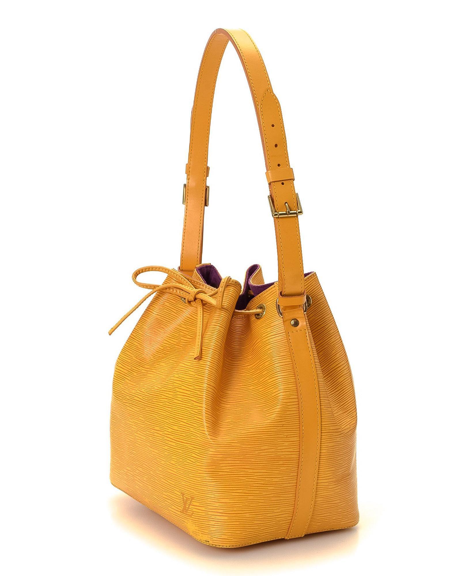 c4e3d23951 Lyst - Louis Vuitton Noe Shoulder Bag - Vintage