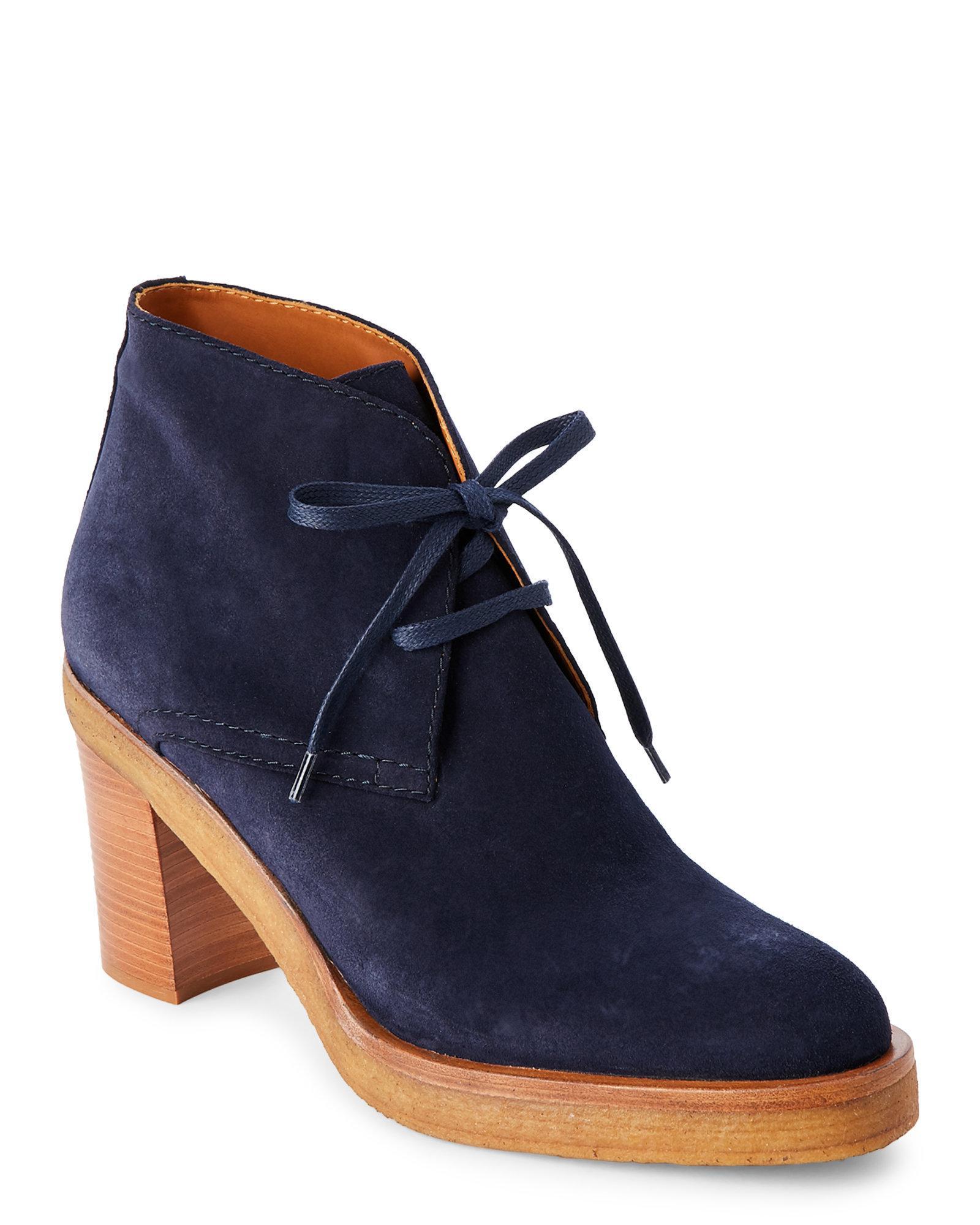 Veronique Branquinho Lace Up Boots