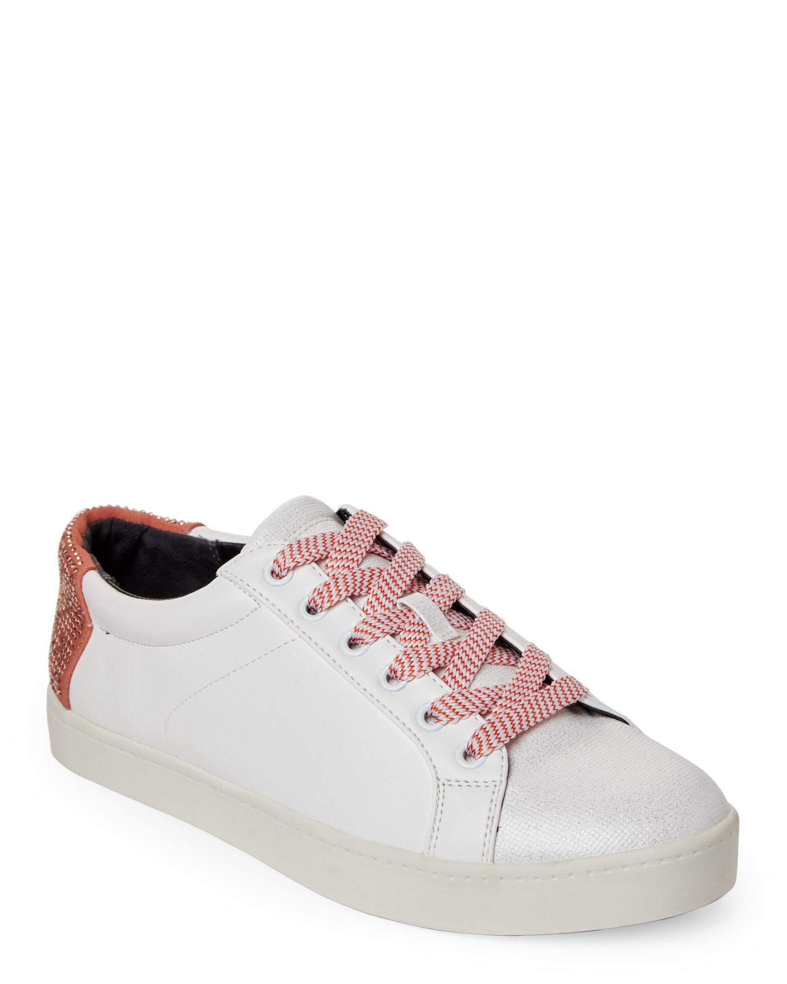 901a644134ab Lyst - Circus By Sam Edelman White   Creamsicle Collins Low-top ...