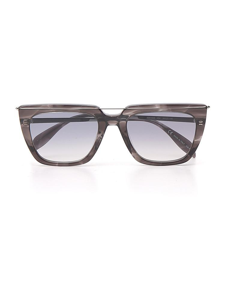 472bb3a1a60 Lyst - Alexander McQueen Eyewear Square Sunglasses in Gray for Men