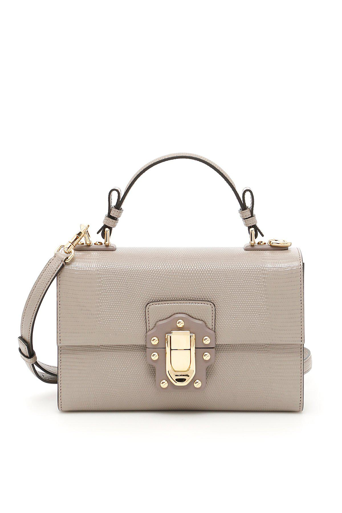 a7cfcbdab035 Lyst - Dolce   Gabbana Lucia Tote Bag in Natural