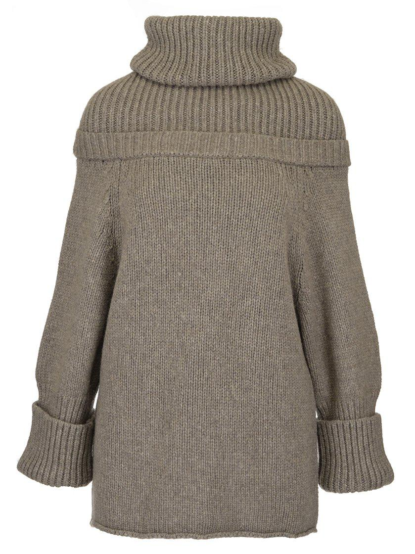 e8d3bb5fb67288 JW Anderson Oversized Knitted Jumper in Gray - Lyst