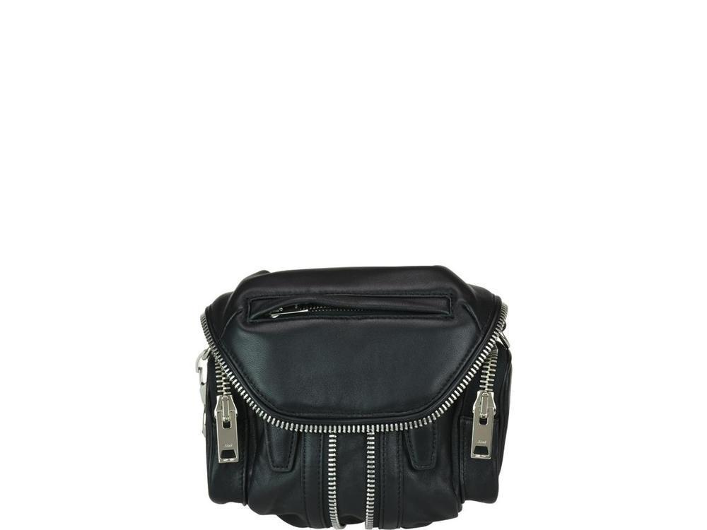 d372bfd34 Alexander Wang Mini Marti Crossbody Bag in Black - Lyst