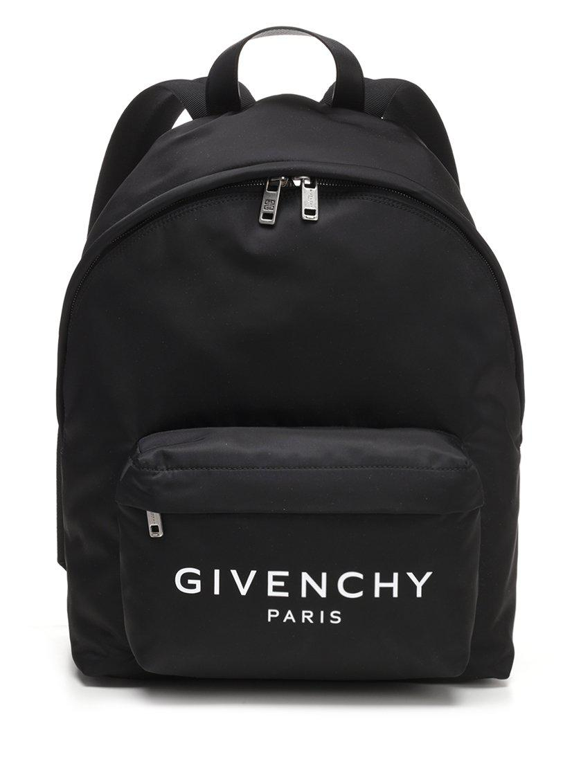 29a8cab0323a Givenchy - Black Urban Logo Backpack for Men - Lyst. View fullscreen
