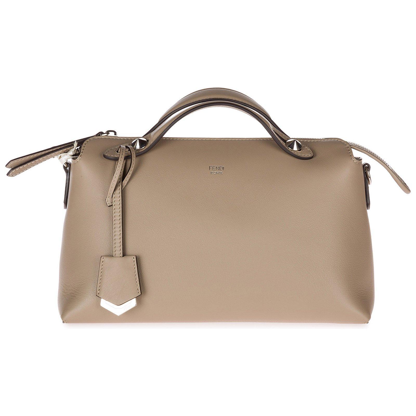 Fendi By The Way Boston Bag in Brown - Lyst fa7de3c2cfabd
