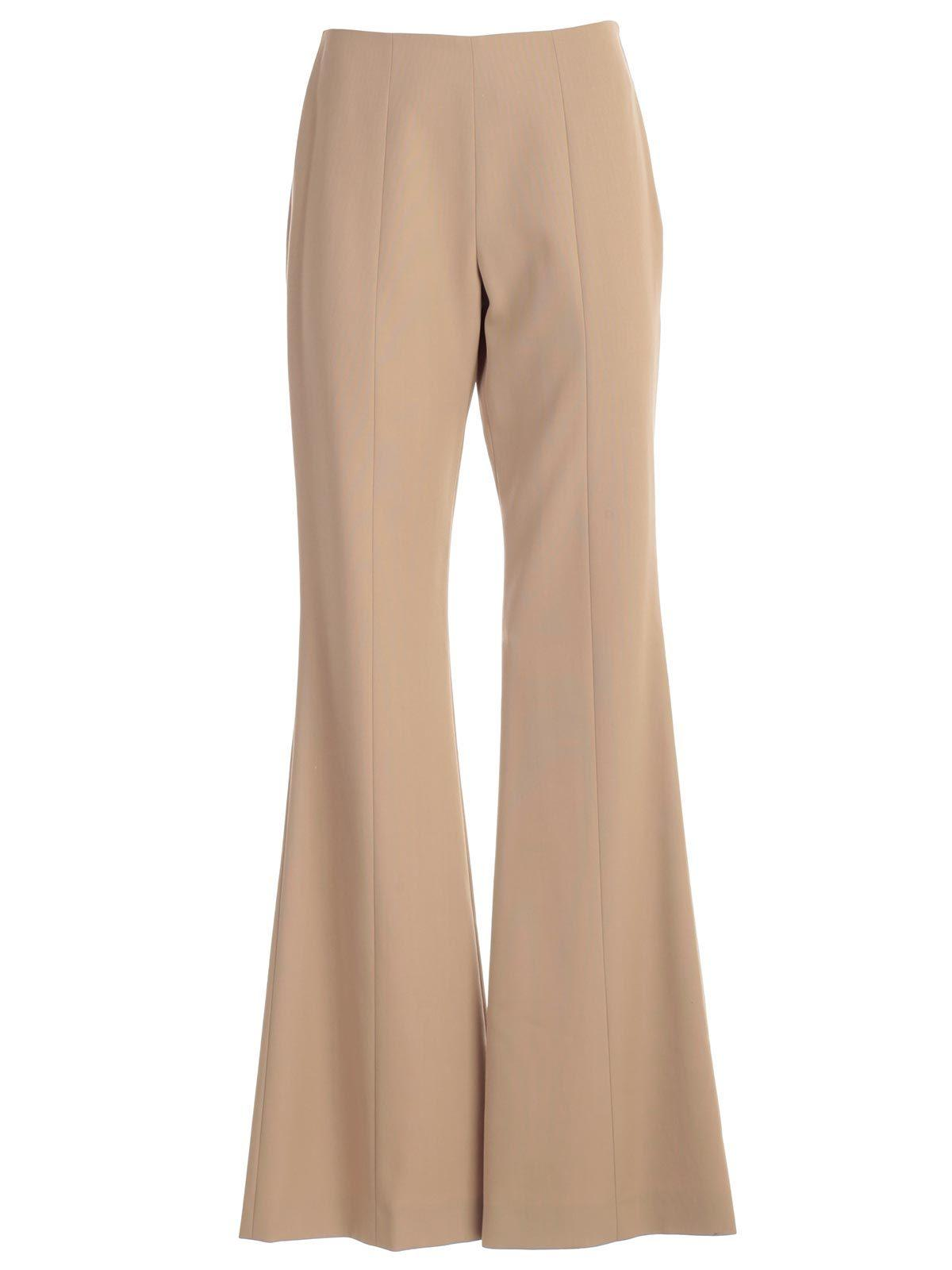 1595a7321530 Lyst - Maison Margiela Flared Trousers in Natural