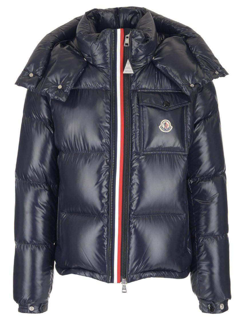81e5db5bc Moncler Montbeliard Puffer Jacket in Blue for Men - Lyst