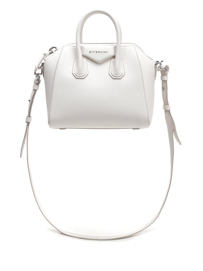 8a48ee6b9282 Givenchy - White Mini Antigona Bag - Lyst. View fullscreen