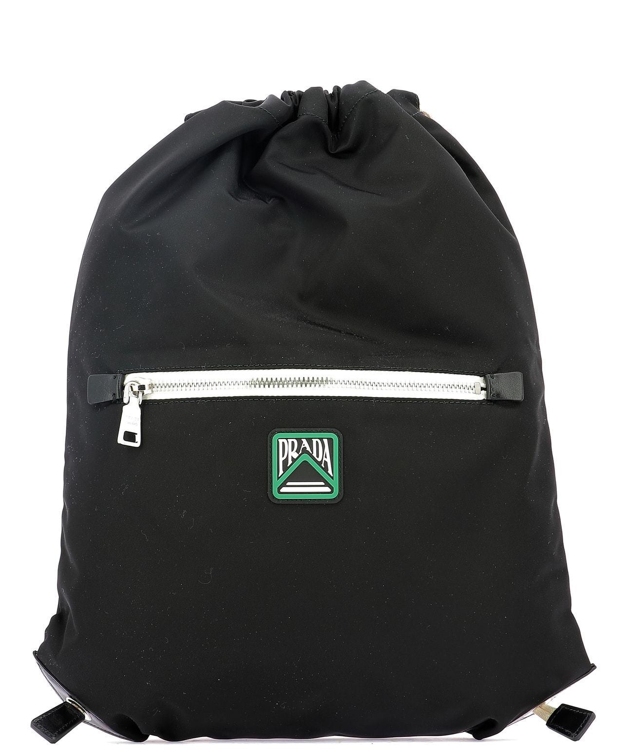 13a3ac6d9897 Lyst - Prada Baltico Logo Backpack in Black for Men