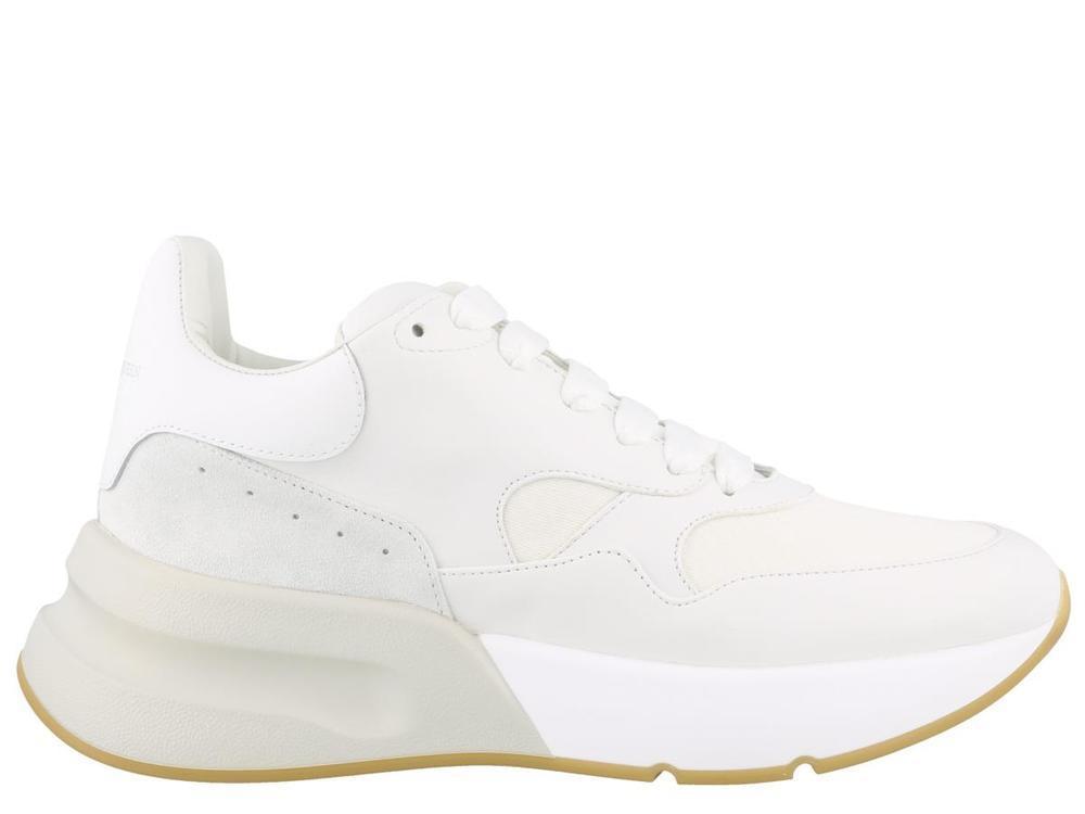 98606dcd70e6 Alexander Mcqueen Platform Sneakers in White - Lyst