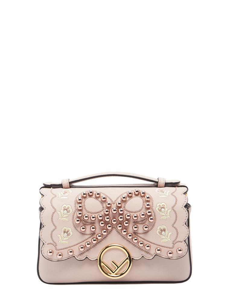 Lyst - Fendi Double Micro Baguette Bag in Pink - Save ... f1dc67c10df89