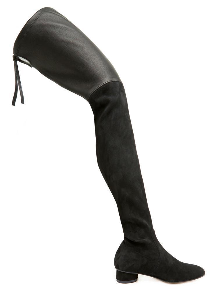 21fc799ecf7 Stuart Weitzman Helena Over-the-knee Boots in Black - Lyst
