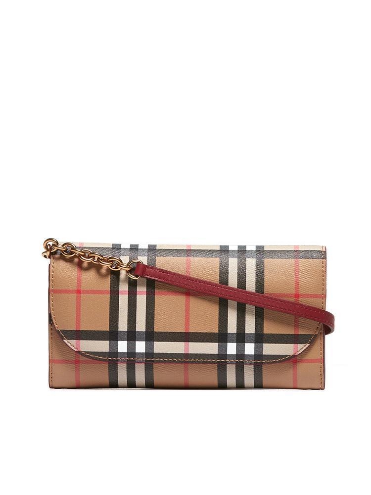 3eaaccb3e4c Burberry. Women's Vintage Check Detachable Strap Wallet