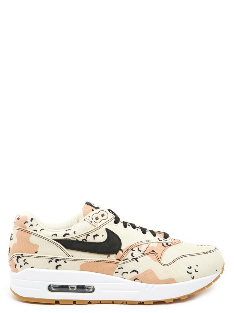 7d65e89e7c3c Lyst - Nike Air Max 1 Premium Slogan Print Sneakers in White for Men