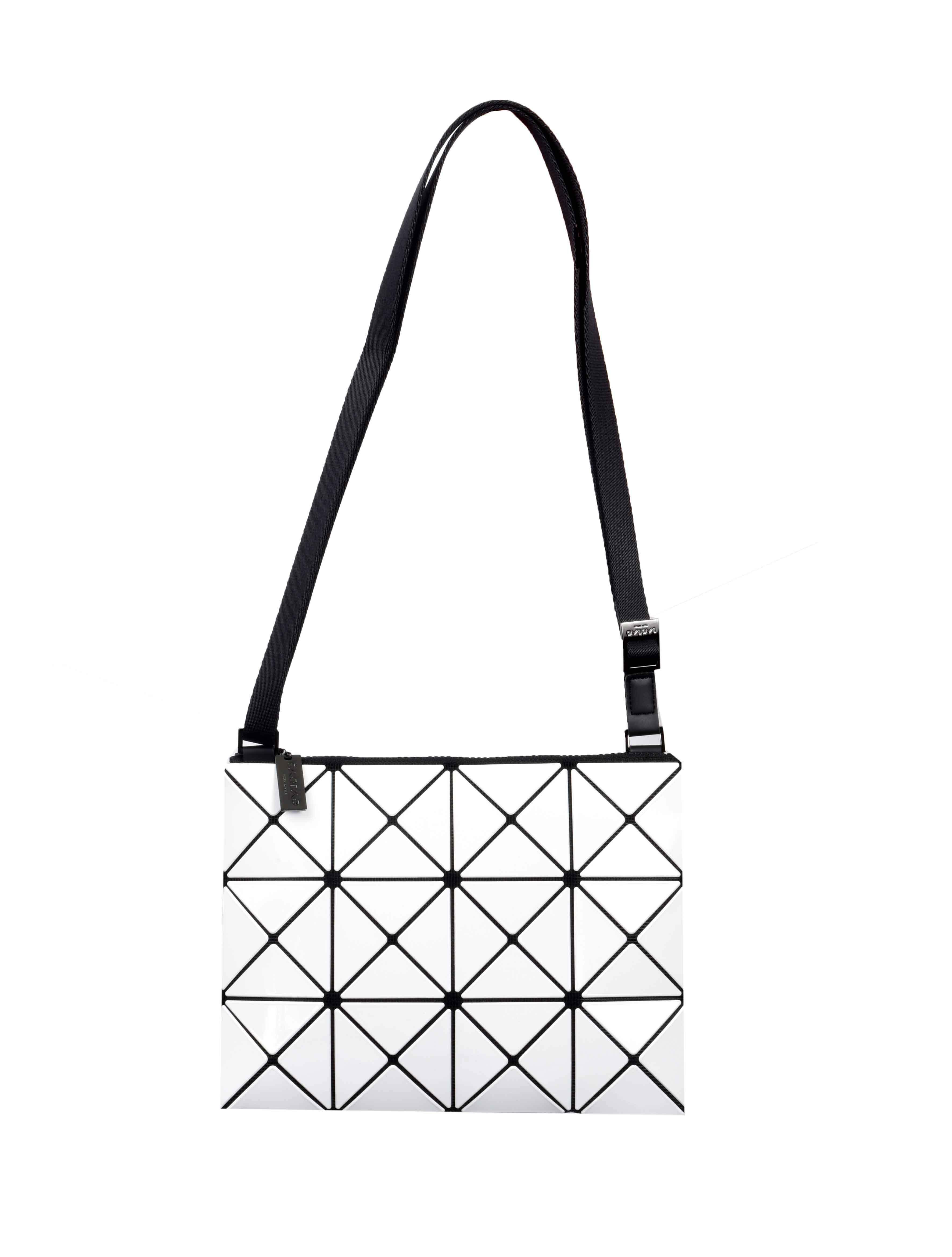 cb38252ca9d0 Bao Bao Issey Miyake Prism Shoulder Bag in White - Lyst