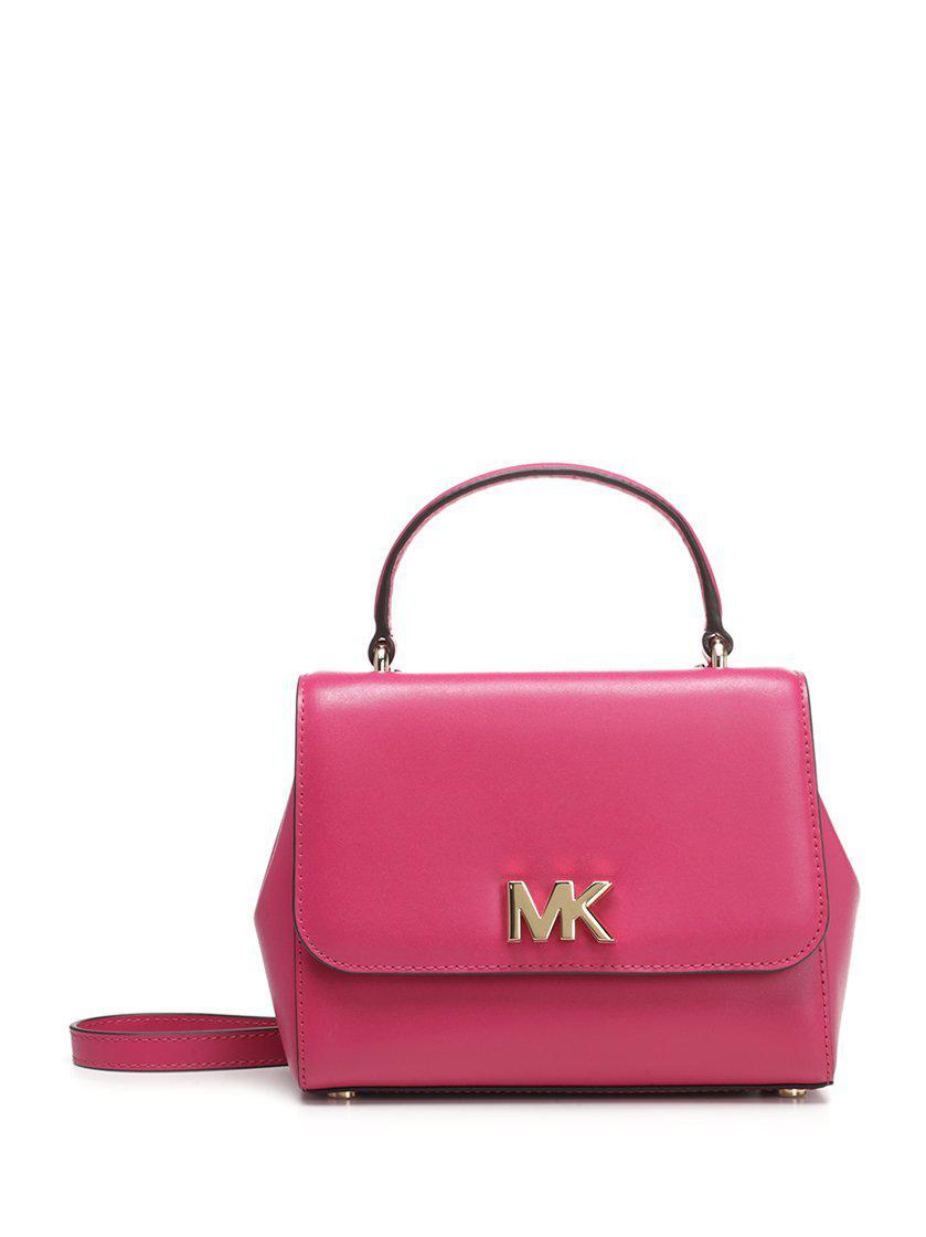 78c3356ea92cd8 MICHAEL Michael Kors Mott Mini Crossbody Bag in Pink - Lyst
