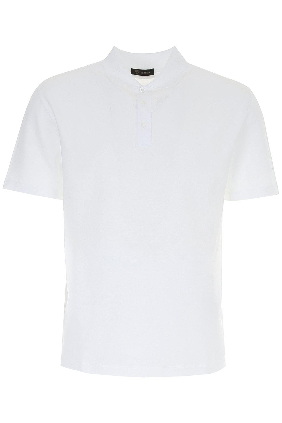 6651839a Versace - White 12 Polo Shirt for Men - Lyst. View fullscreen
