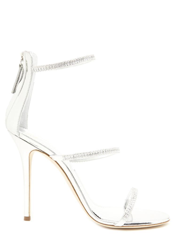 268452cfc09 Lyst - Giuseppe Zanotti Alien Sandals in Metallic