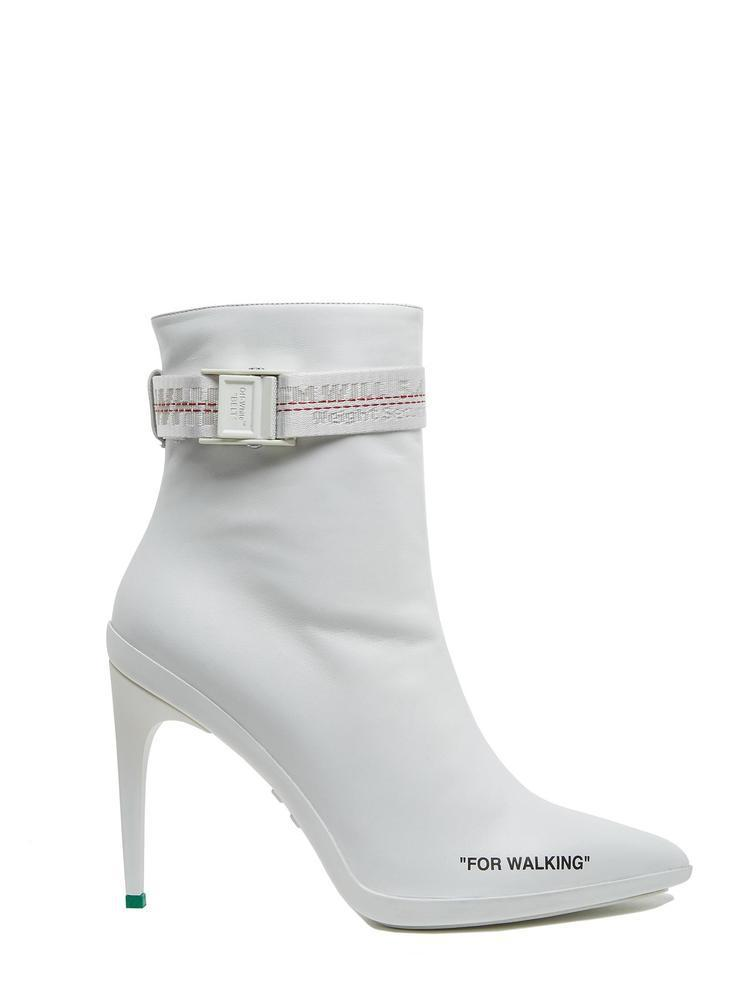912a1502419c Lyst - Off-White C O Virgil Abloh White For Walkin 100 Boots in White