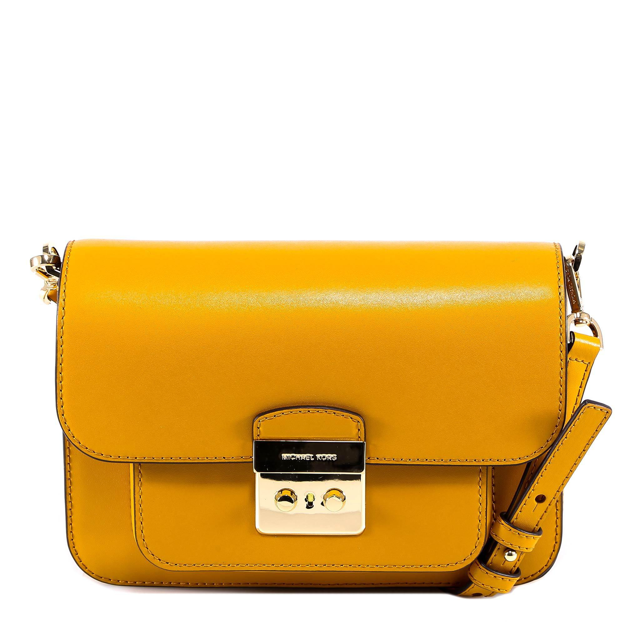 5e6a8f92e7455 Michael Michael Kors Sloan Shoulder Bag in Metallic - Lyst
