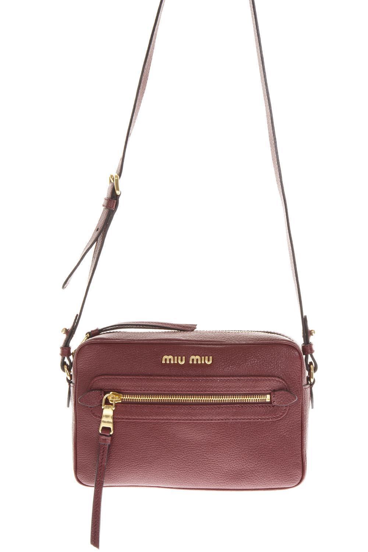 Lyst - Miu Miu Camera Bag in Brown 419688074a