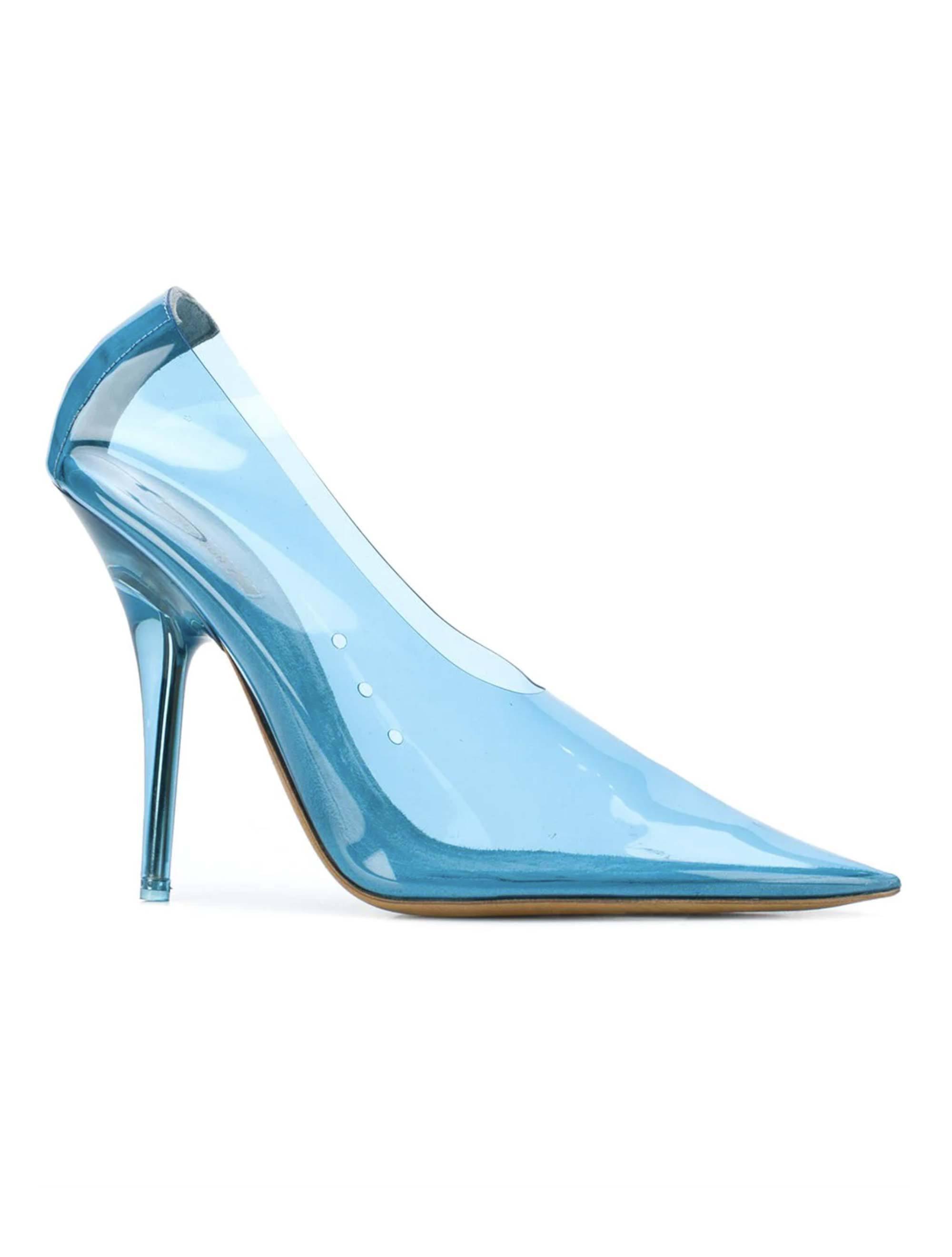 c14ce4136 Yeezy. Women s Blue Pvc Court Shoes