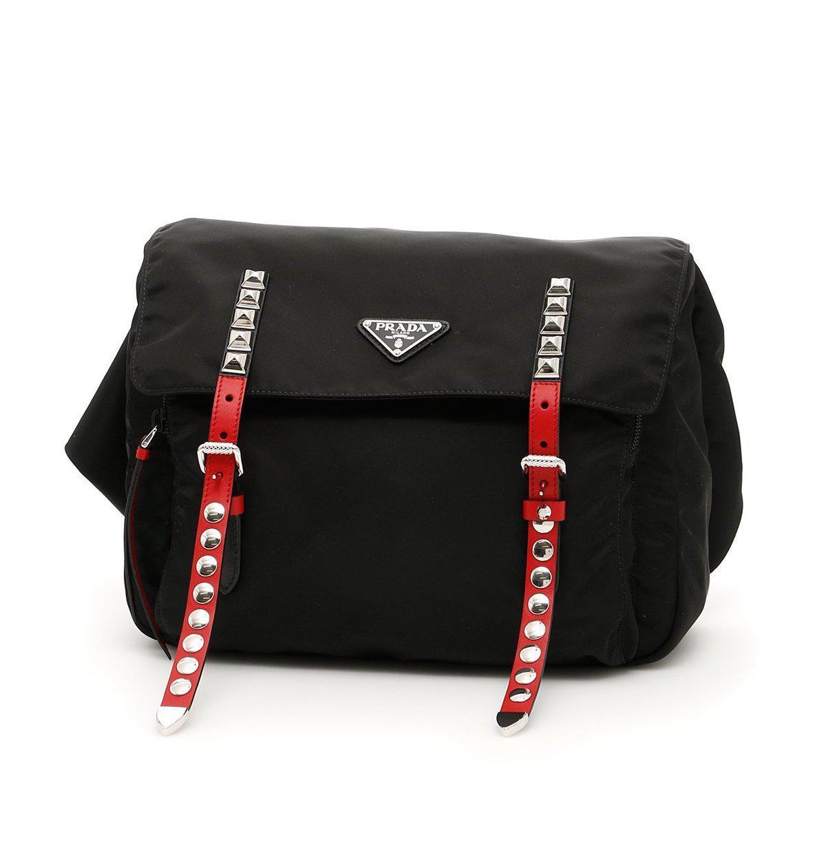 Prada Studded belt bag sITj4QIopO
