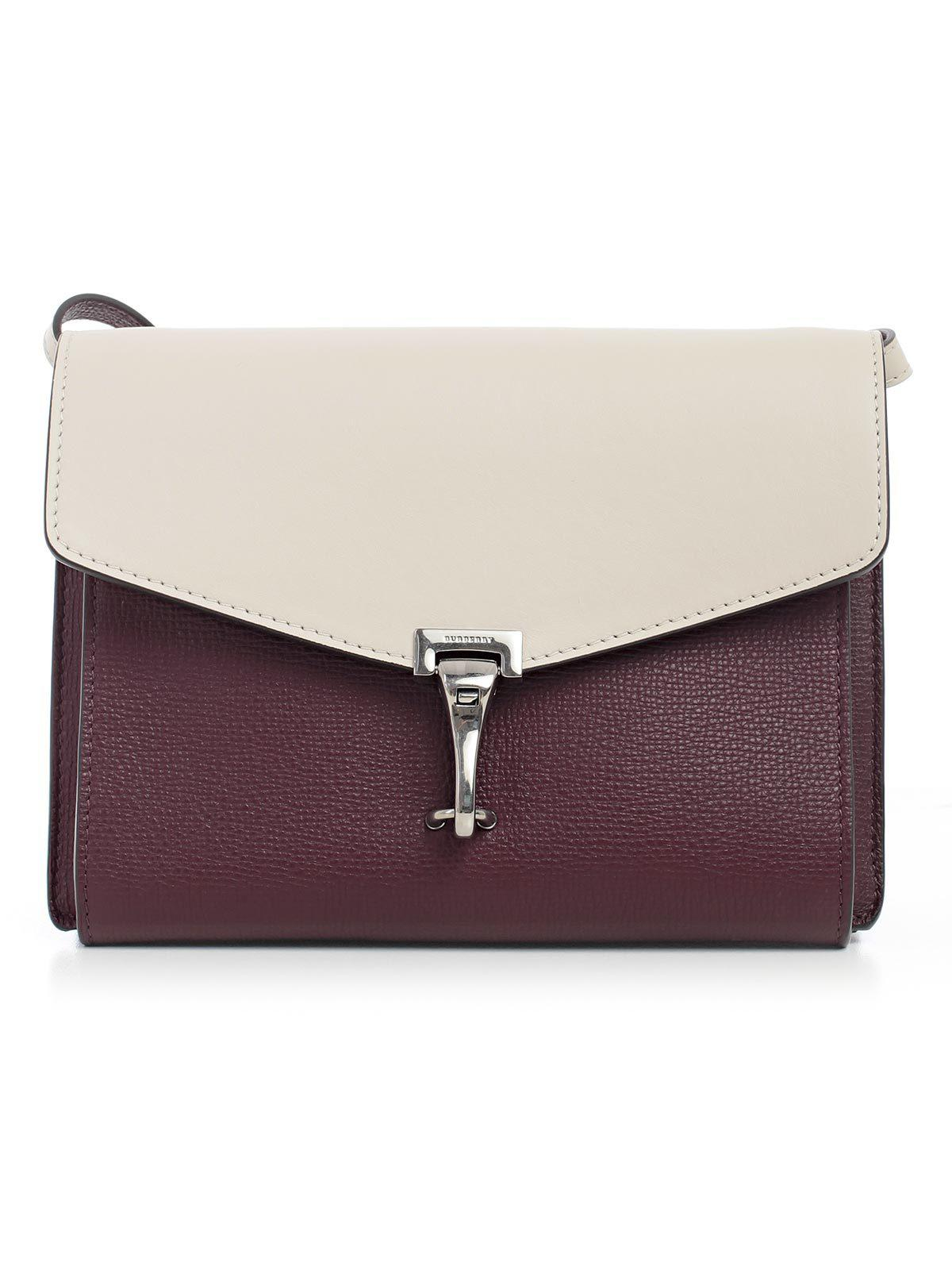9b20bc1a1dc4 Burberry Two-tone Crossbody Bag in Purple - Lyst