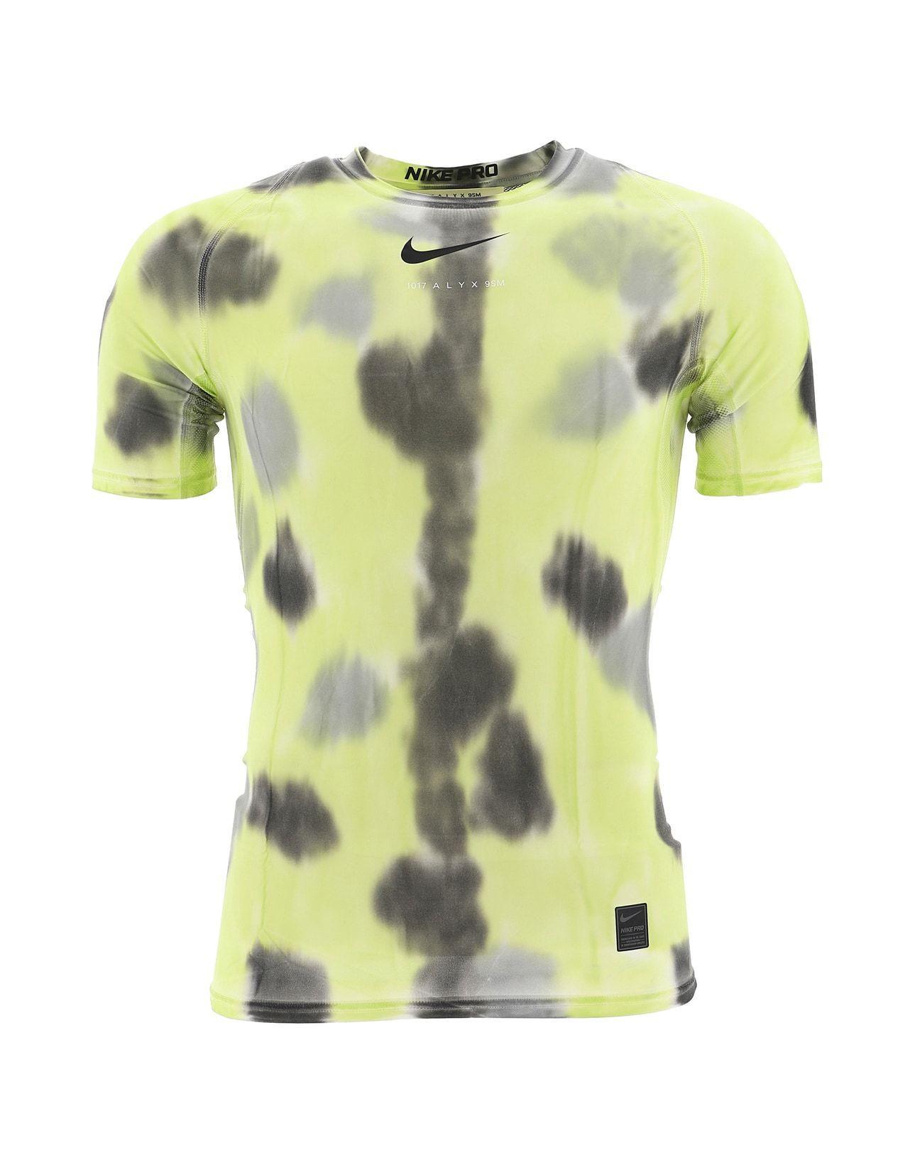 9c34bf74087 1017 ALYX 9SM X Nike Sponge Print T-shirt in Yellow - Lyst
