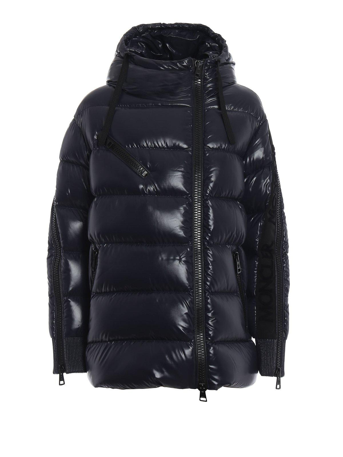 911cf68dc00c Moncler Liriope Padded Jacket in Blue - Lyst