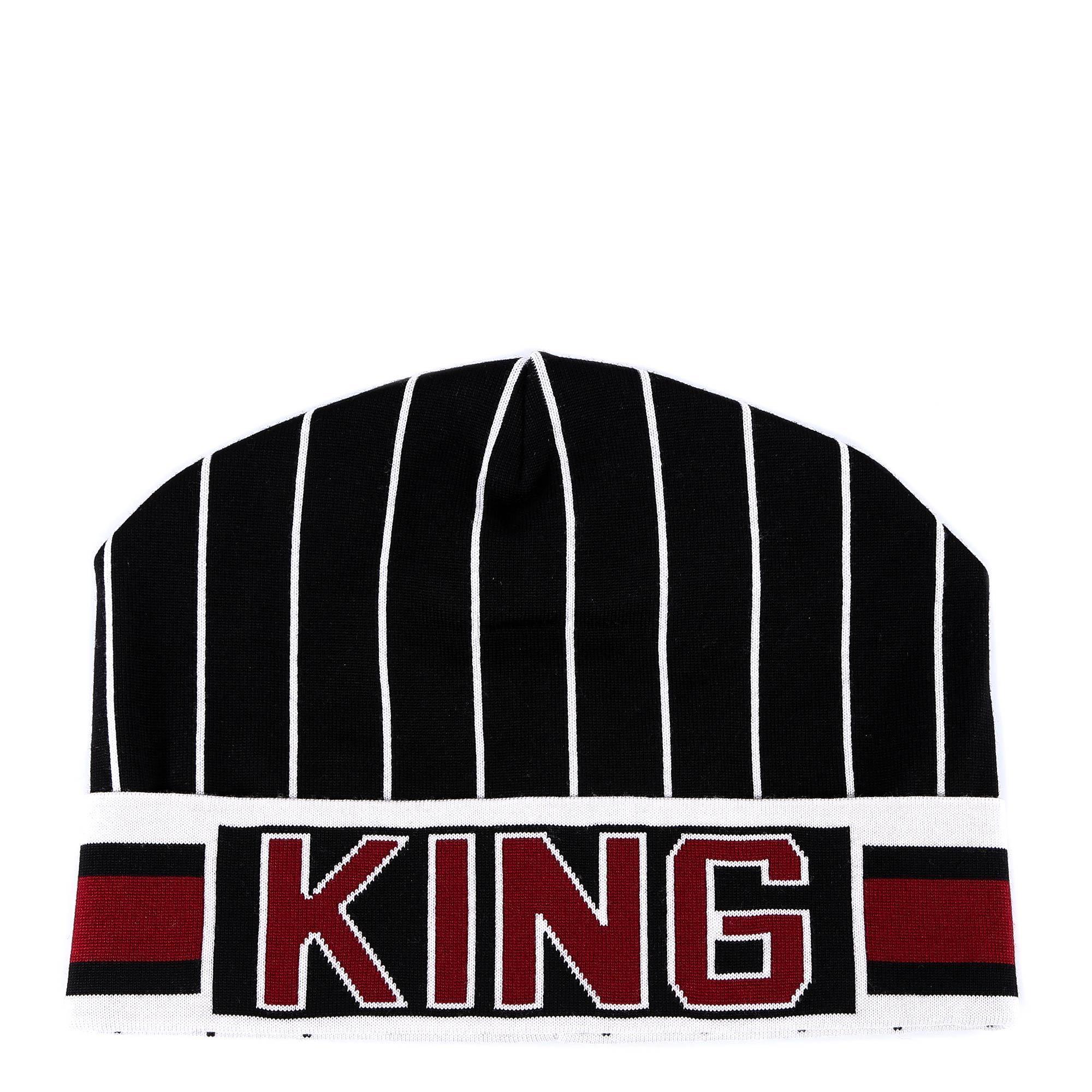 840bfd58c34 Lyst - Dolce   Gabbana King Beanie in Black for Men