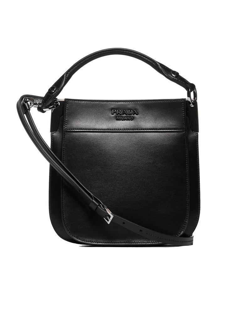 92cdf890d5ede7 Lyst - Prada Margit Shoulder Bag in Black