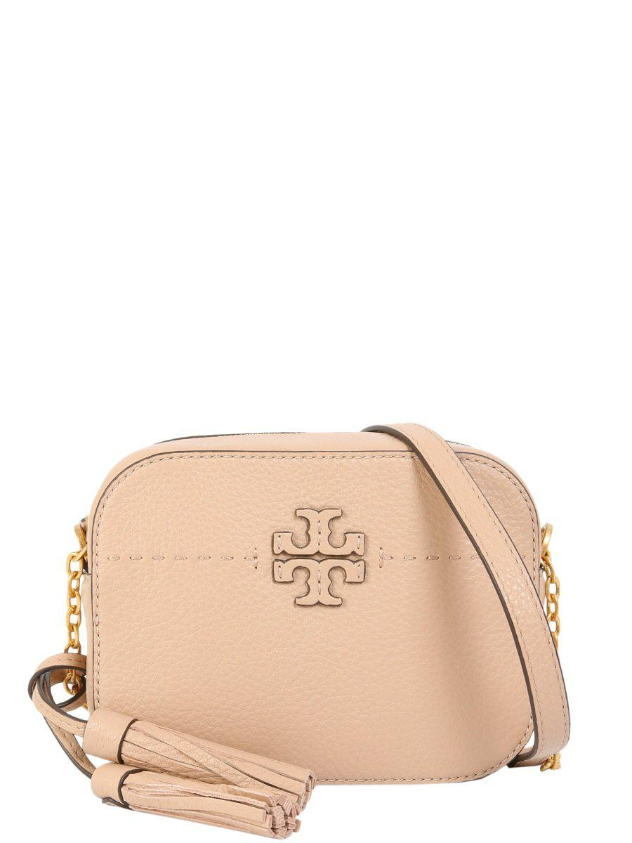 f41a5d3c3 Tory Burch Mcgraw Crossbody Bag in Natural - Lyst