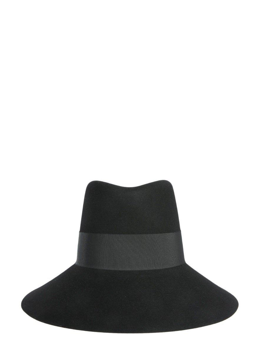 e027009b8d7 Saint Laurent Wide Brim Hat in Black - Save 1.9230769230769198% - Lyst