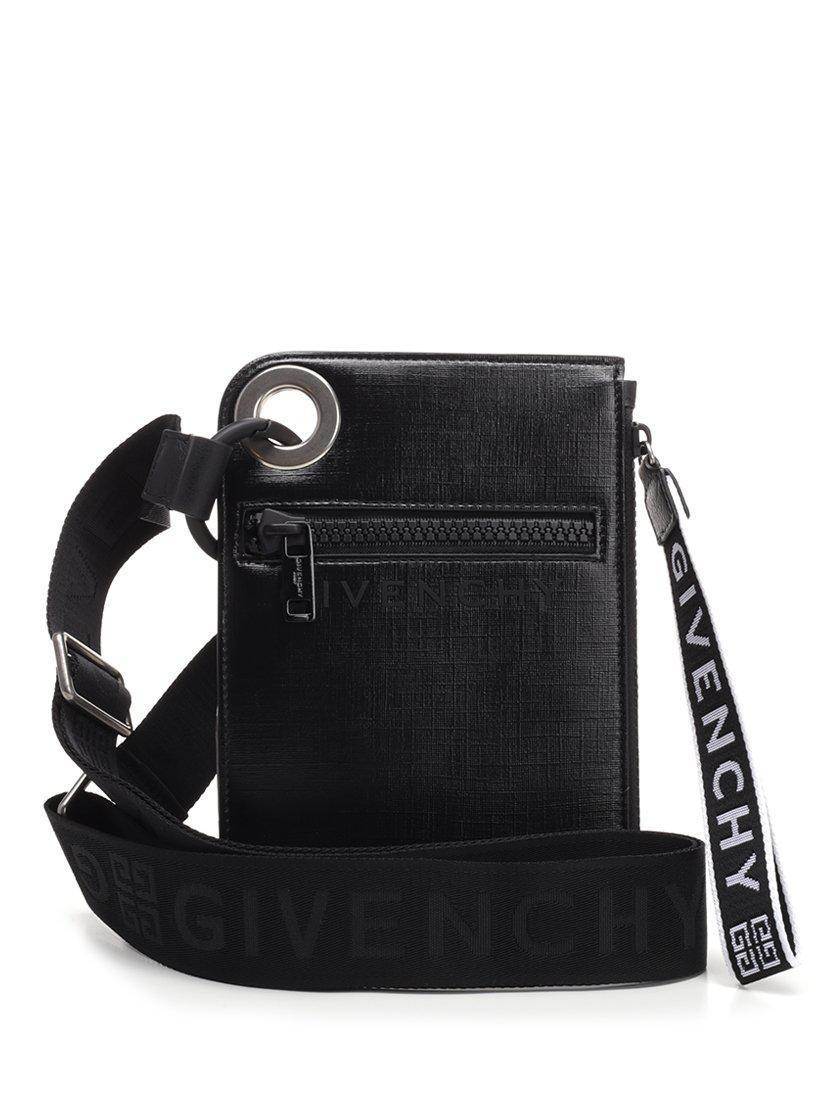 Givenchy - Black Jaw Slim Crossbody Bag for Men - Lyst. View fullscreen eeb5ac44da