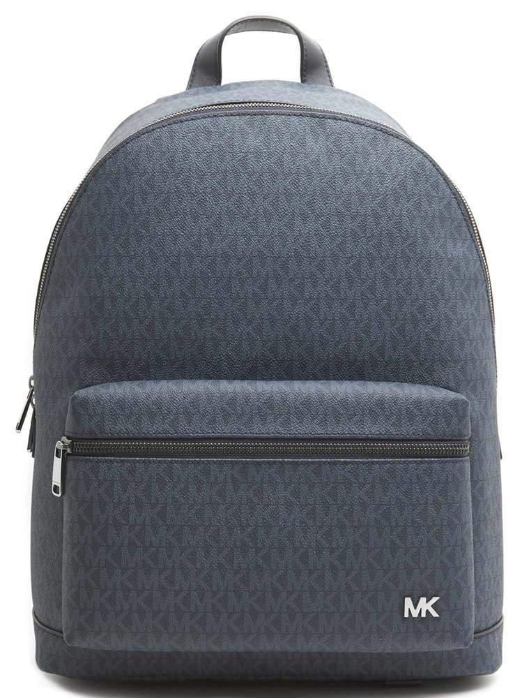 1f9b14ad14e9 Lyst - Michael Kors Jet Set Logo Backpack in Blue for Men