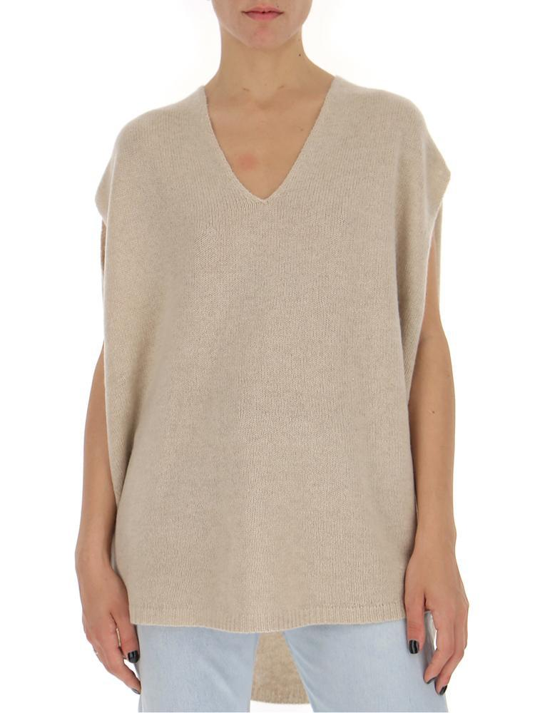 253ec5181c0 Theory Relaxed Loose-fit Knitted Top in Natural - Lyst