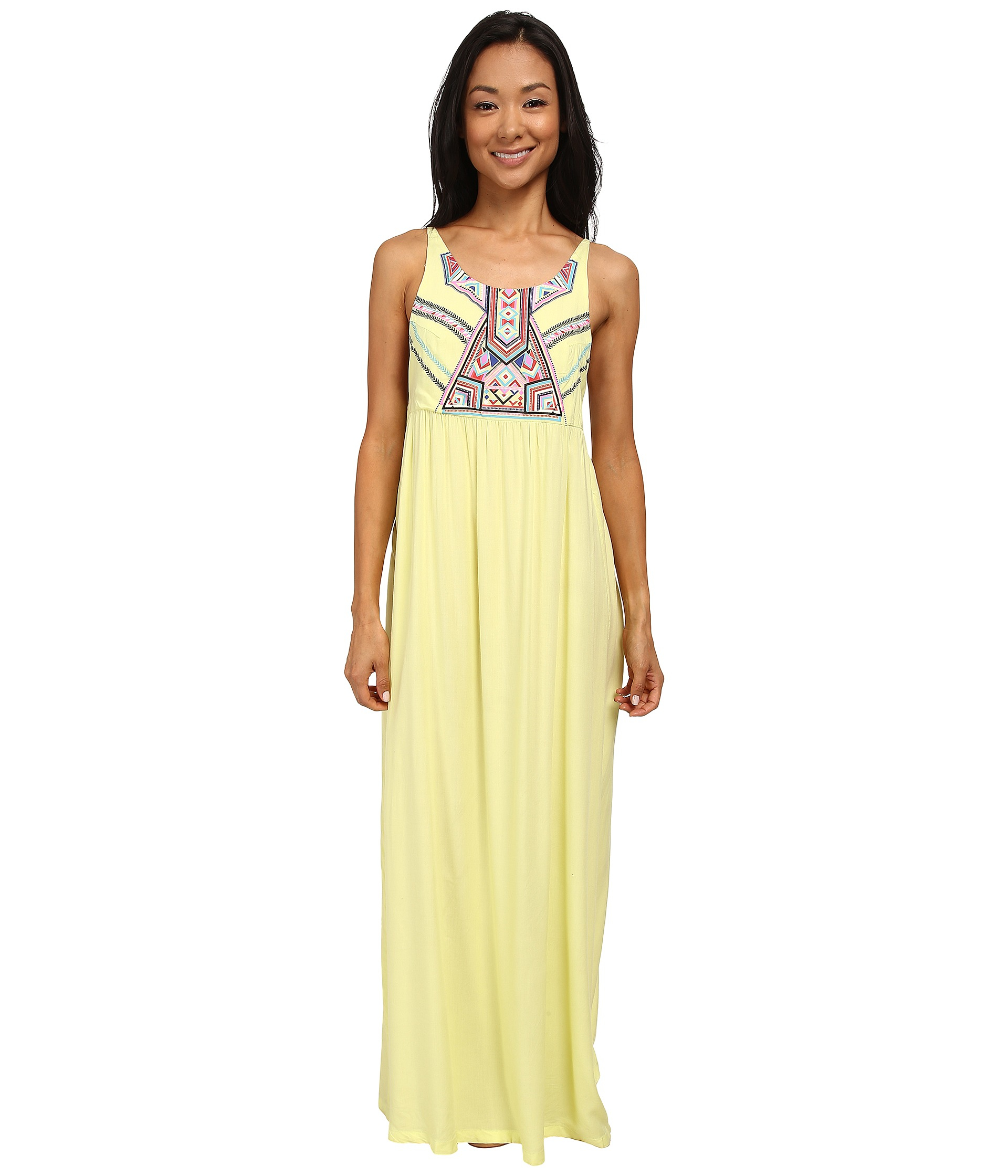 Rip curl Nomadic Maxi Dress in Yellow  Lyst