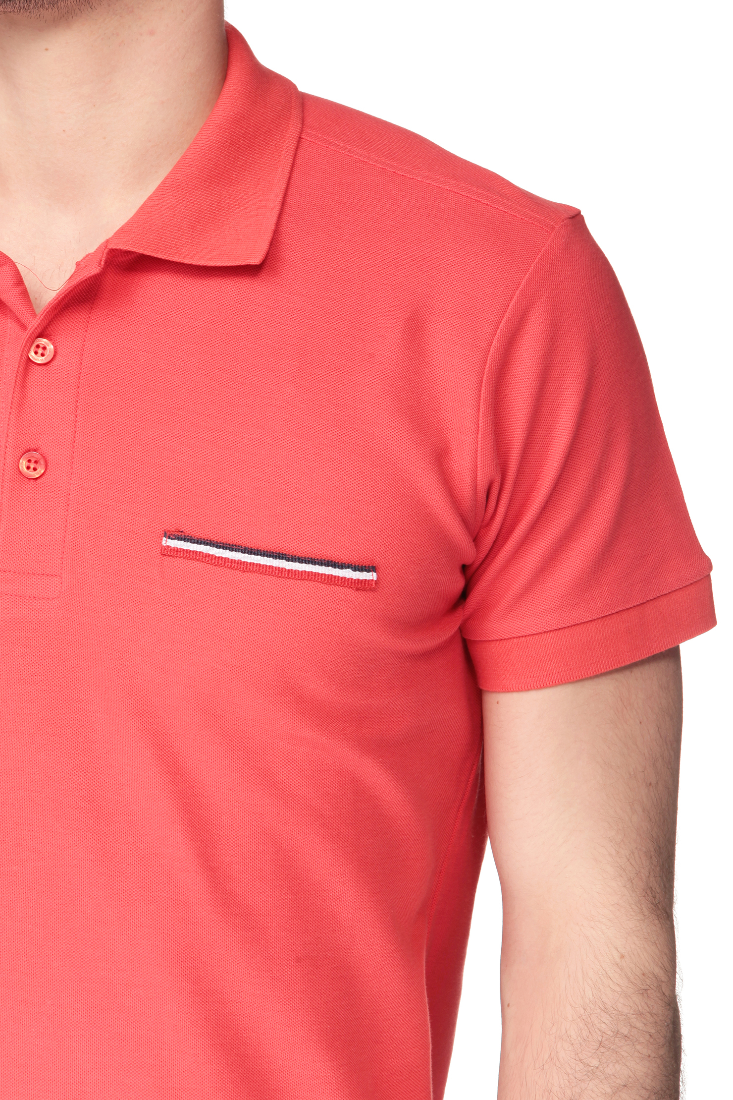 Best mountain polo shirt in red for men lyst for Best polo shirt for men