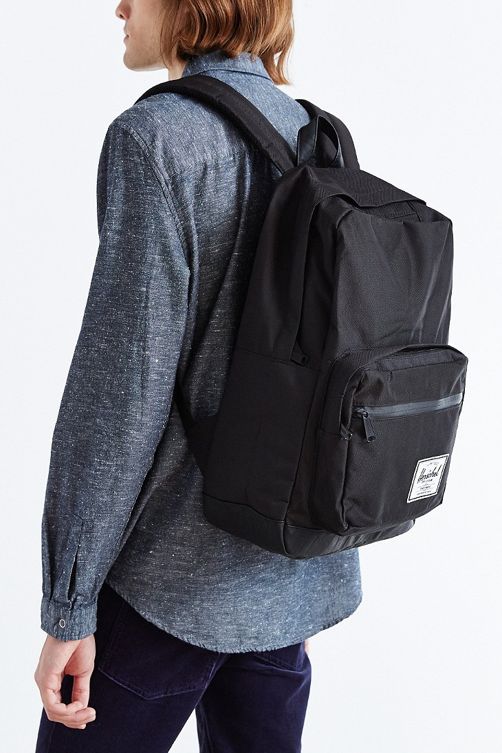 3ae8c71364 Lyst - Herschel Supply Co. Pop Quiz Backpack in Black for Men