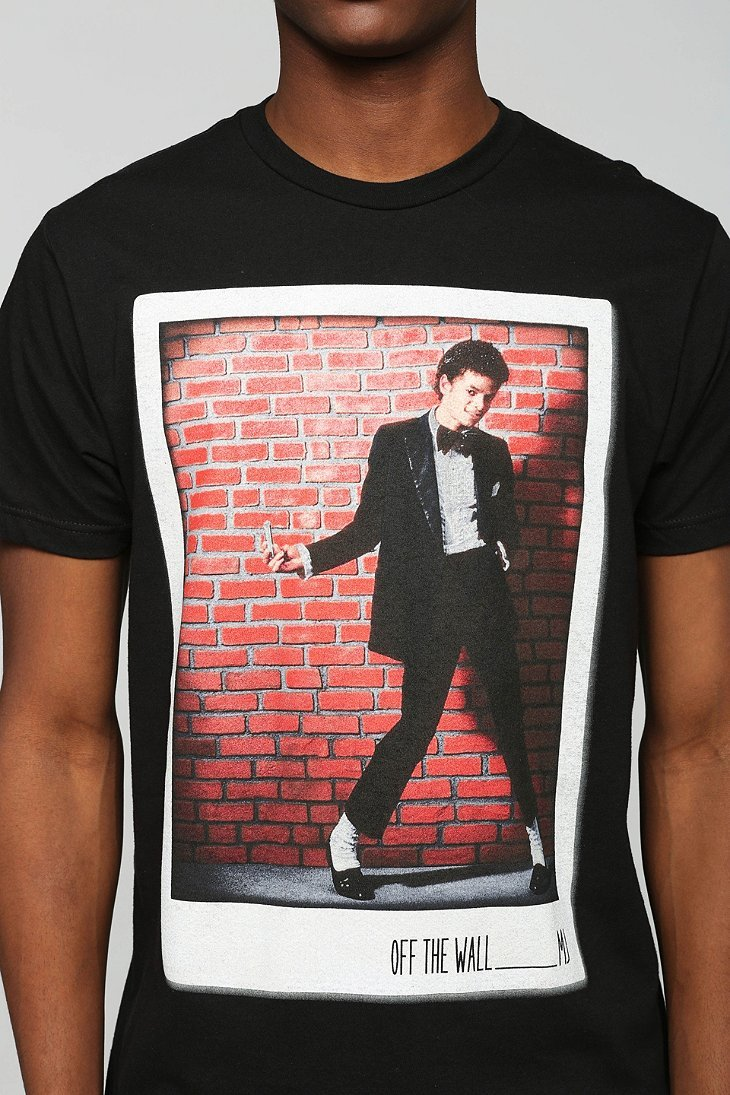 lyst urban outfitters michael jackson off the wall tee