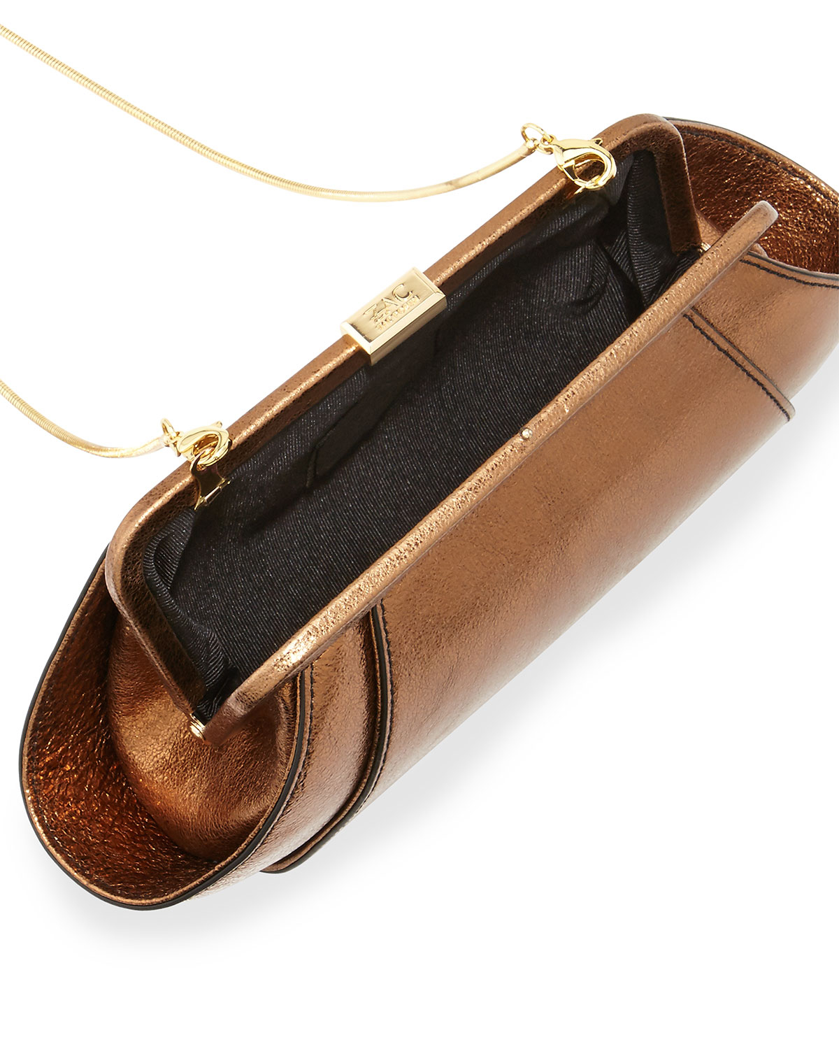 cde2156859c Gallery. Previously sold at  Last Call · Women s Metallic Clutch Bags