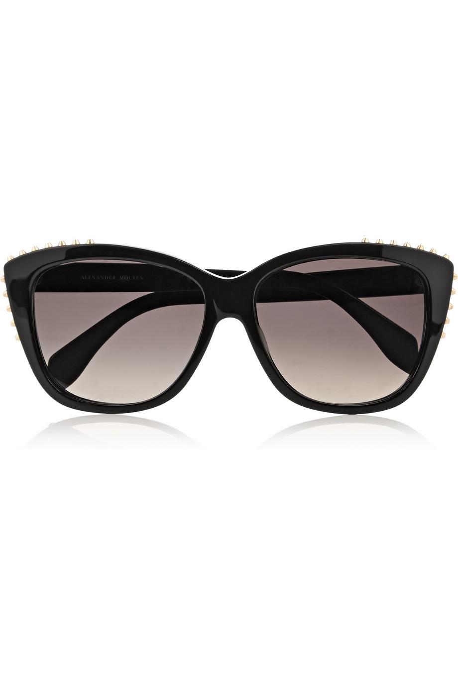 negras Mcqueen de sol ojo de gato Alexander de Gafas 4pPxBEwqH